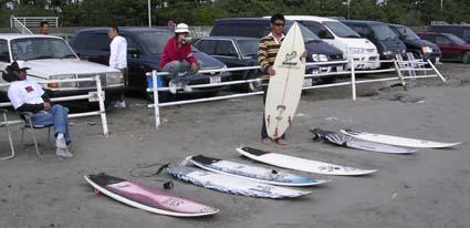 サーフボード試乗会