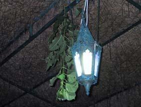 去年泊まったホテルに夕食に行った時に発見。虫がすごかった時に明かりの横にこれを吊るすと、1ぴきもいなくなった。すごい利き目