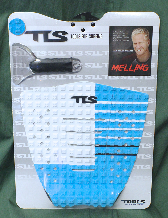 TOOLS TLS Deck Pad Melling white-blue