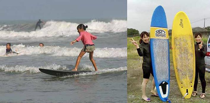 サーフィンスクールをリスタートします。