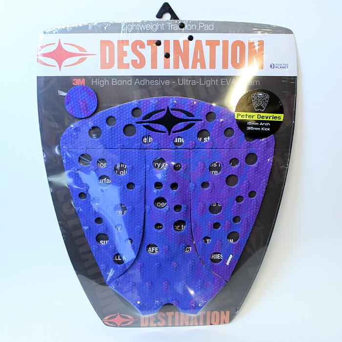 Destination Surf Deck Pad Peter Devries Blue/Purple Gradetion