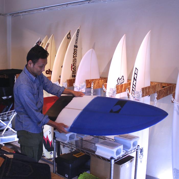 ATOM Surfboard C-FSモデルをオーダーされたAさん