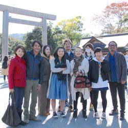 山本家、中村家、多々良家で記念写真撮りました