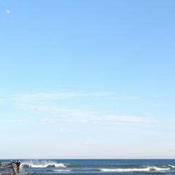 きのうの波