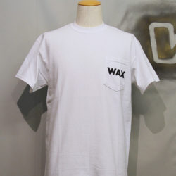 THM-0453 Wax Pocket S/S TEE white