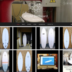 ATOM Surfboard WEB