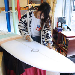 ATOM Surfboard Y.F.D.model RoundをオーダーされたAさん