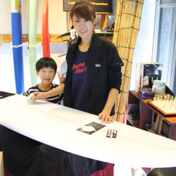 ATOM Surfboard Y.F.D.モデルをオーダーされたAさん