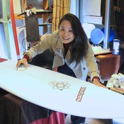 ATOM Surfboard Y.F.D. modelをオーダーされたCさん