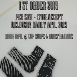 Borst Designs 2019 1st order accepting