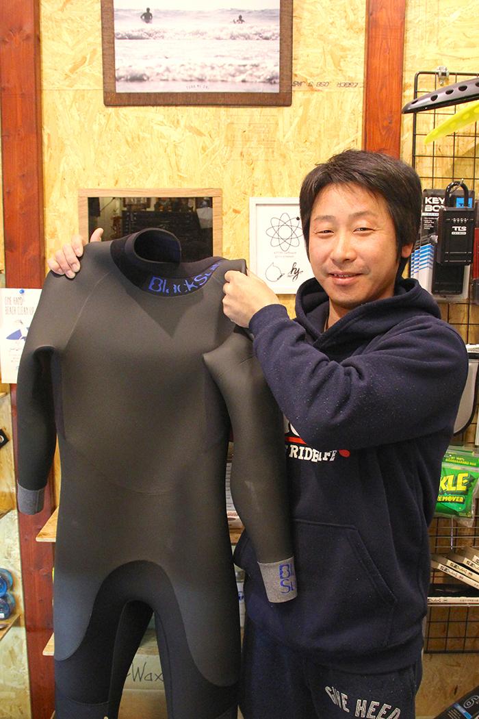 BlackSuits Cuff DesignセミドライをオーダーされたBさん