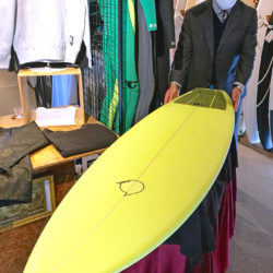 ATOM Surfboard Squawkerモデル EPOLY仕様をオーダーされたAさん