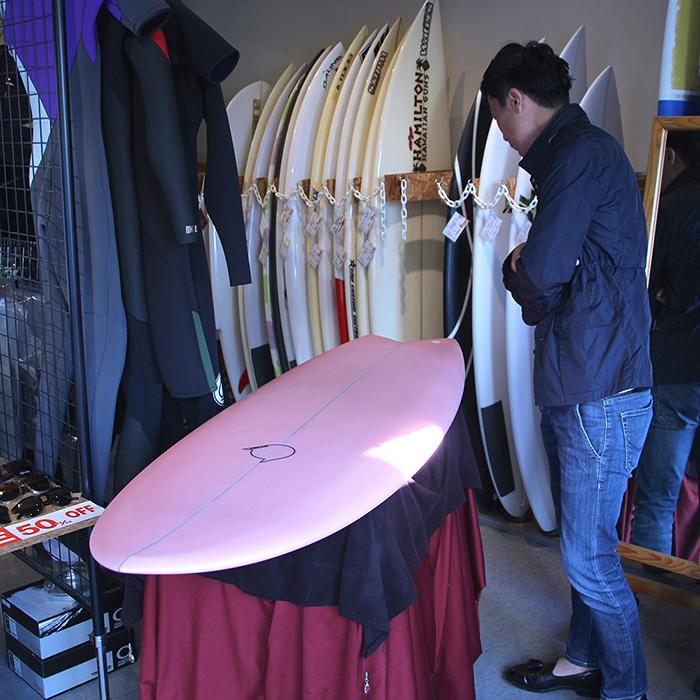 ATOM Surfboard Mach-ⅡモデルをオーダーしてくれたBさん