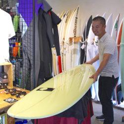ATOM Surfboard 「Sanctuary」をオーダーされたCさん