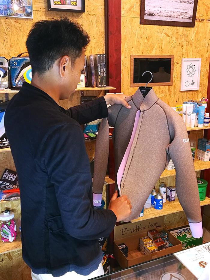 BlackSuits Cuff DesignジャケットをオーダーされたCさん
