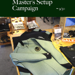 GLARE Surf Suits Master's Setupキャンペーン