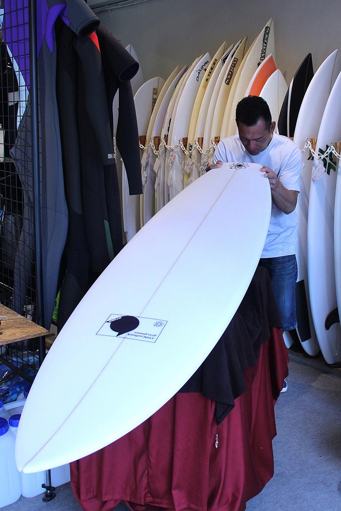ATOM Surfboard Leaps'n Bouns EPOLYをオーダーされたAさん