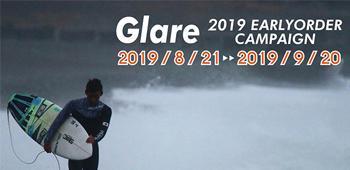 GLARE Surf Suits 2019 Fall & Winter アーリーオーダーキャンペーンバナー