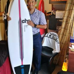 chp Surfboard DNA the OneをオーダーされたBさん