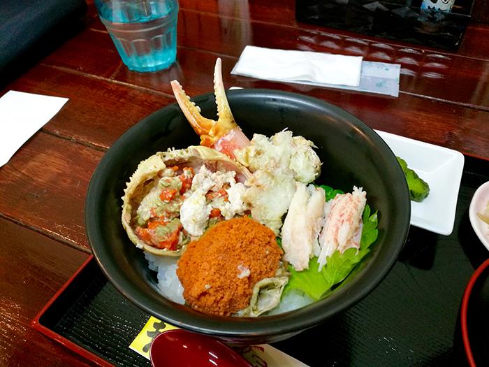 セイコ蟹丼