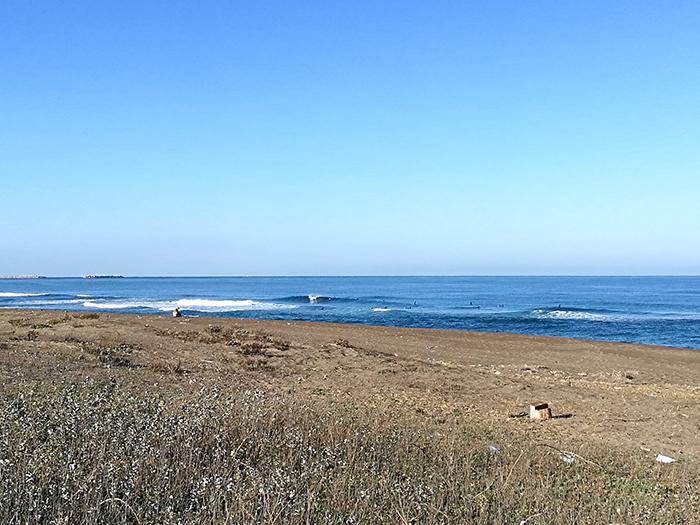 こっちはいい波でした!