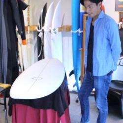 ATOM Surfboard SquawkerをオーダーされたBさん