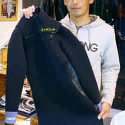 BlackSuits Cuff Design パネルジップフルスーツをオーダーされたAさん