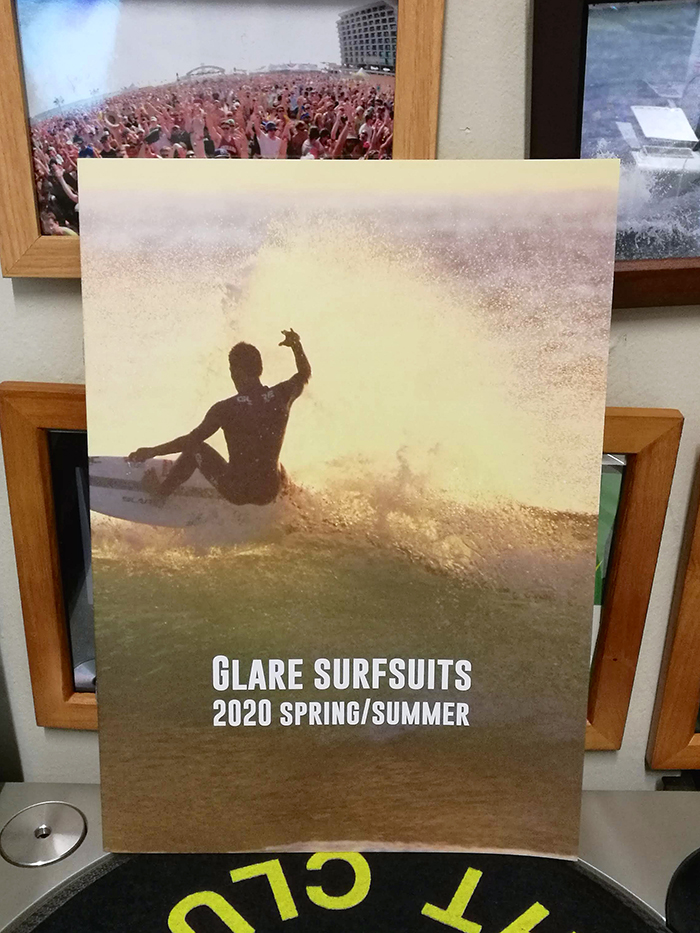 GLARE Surf Suits 2020 Spring & Summerカタログが届きました