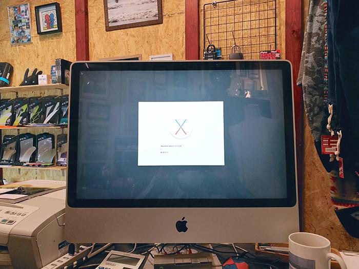 Mac OSのアップデート失敗...