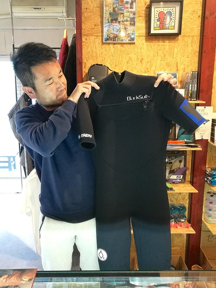BlackSuits Tie Design シーガルをオーダーされたCさん