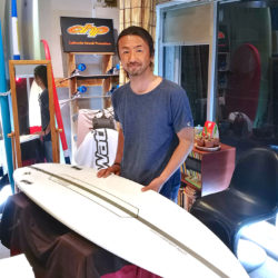 ATOM Surfboard Strider ATOM TechをオーダーされたBさん