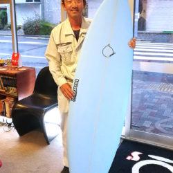 ATOM Surfboard EPCiモデルをオーダーされたCさん