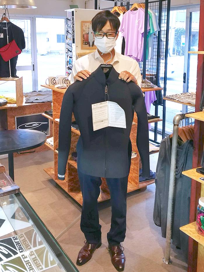 BlackSuits JacketをオーダーされたCさん