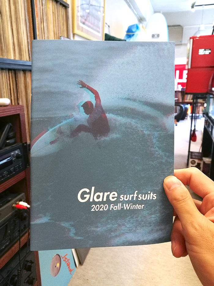 GLARE Surf Suits Fall & Winter 2020カタログ