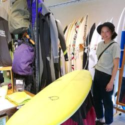 ATOM Surfboard SanctuaryをオーダーされたAさん