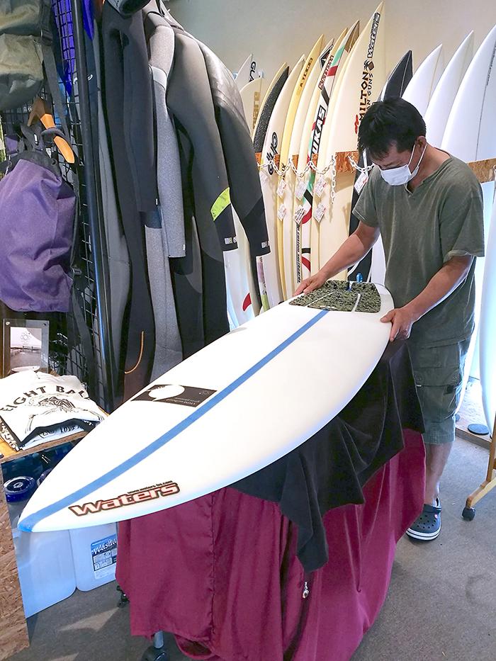 ATOM Surfboard Strider ATOM TechをオーダーされたAさん