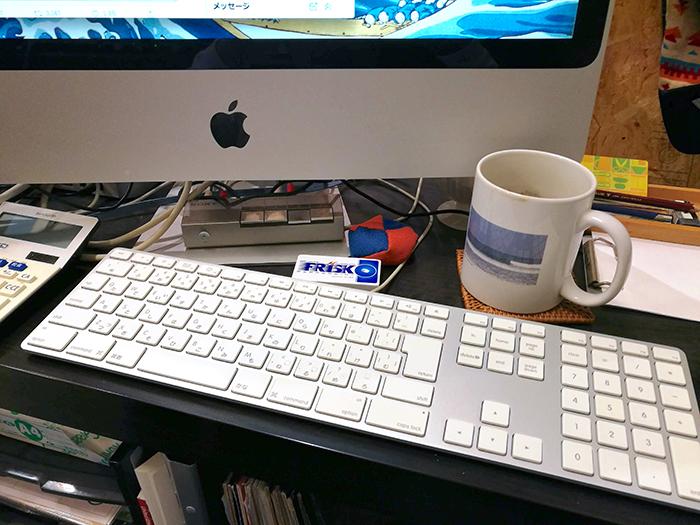 10年もののキーボードがピカピカ!