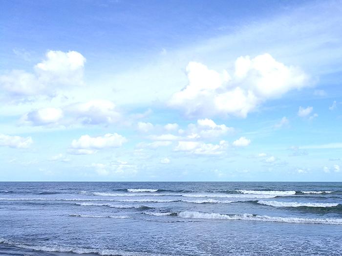 メインビーチの空いてたところで1R