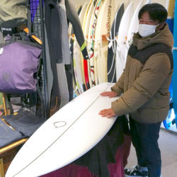 ATOM Surfboard Strider modelをオーダーされたCさん