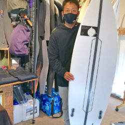 ATOM Surfboard Strider by ATOM TechをオーダーされたCさん
