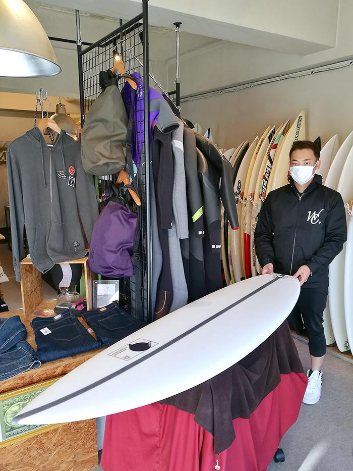 ATOM Surfboard Strider by ATOM TechをオーダーされたAさん