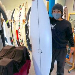 ATOM Surfboard Squawker v2をオーダーされたAさん