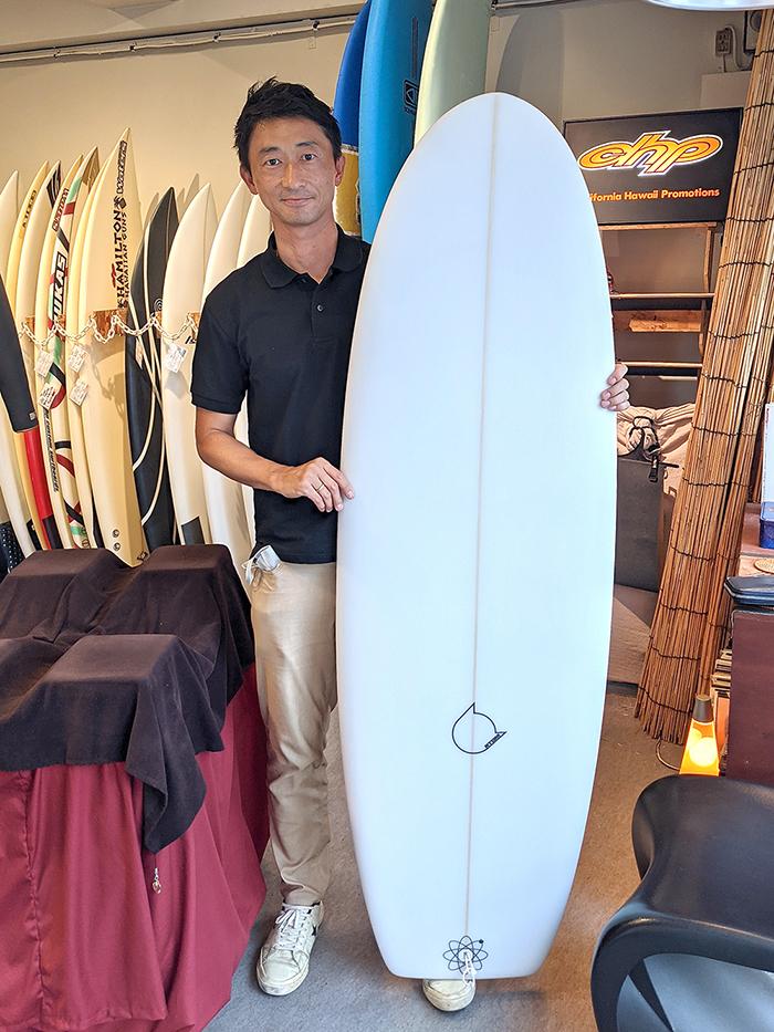 ATOM Surfboard anonymousをオーダーされたBさん
