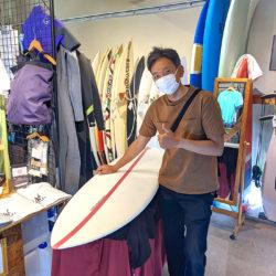 ATOM Surfboard Strider ATOM Tech2.0をオーダーされたAさん